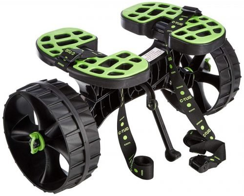 C-Tug Kayak and Canoe Trolley with Sandhopper Wheels